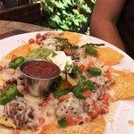 Beef nachos. Delicious!