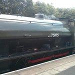 Engine in steam
