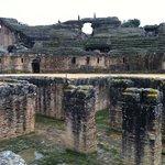 Inside the gladiator's stadium