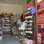 Fine tourist shops