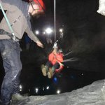Hold on tight as you zip your way across one of the underground lakes