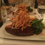 Steak and frites. Just simple just nice..