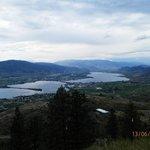 Aussicht auf den Okanagan See