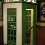 Neat Phone Booth Inside the Pub