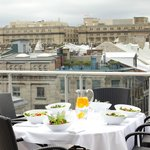 Rooftop private terrace Executive - Signature Suite