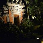 Tempel im Resort