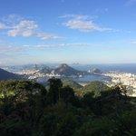 Dia lindo para observar a Rio!