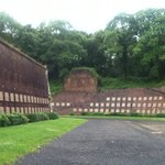 Memorials to the resistance fighters who were executed