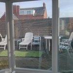 Nice little rooftop terrace