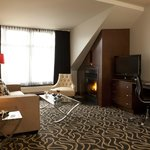 Executive Suite with fireplace