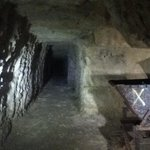 Tunnels dug by NZ soldiers to link up quarries and form tunnels to reach front line