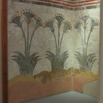 Wall painting of papyrus