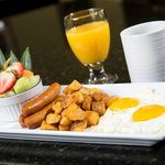 Delicious fresh breakfast dishes served daily!