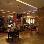 Inside Lotte Hotel
