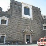La Facciata barocca della Chiesa Del Gesù Nuovo