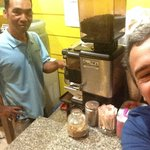buonissimo caffe anche di notte con mister Paya