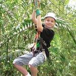 Zipline Canopy at CHUKKA Montpelier/RoseHall