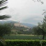 veduta su Assisi