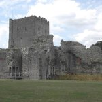 View of Porchester Castle Keep.
