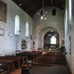 Interior of Porchester Churrch.
