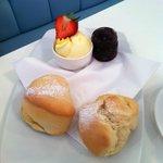 Cream Tea at Cherry Trees Coffee House, Padstow