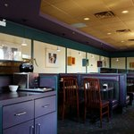 It looks 90s, but that's not a bad thing in a Diner Restaurant is it? Of course not!