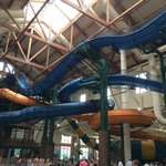 Some of the indoor water slides