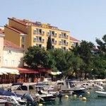 отель вид с моря