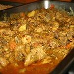Poulet au curry, excellentissime !!!