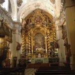 Interior de la Iglesia, altar mayor