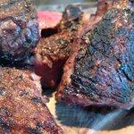 800 grams of porter house steak grilled in mibrasa coal oven