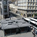 Rennes city center (view from room)