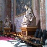 Interno Basilica S. Maria degli Angeli e dei Martiri