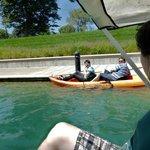 kayak and paddleboats