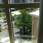 Looking out from the 10th floor