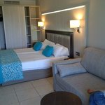 Spacious rooms, nice colour settings