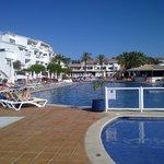 Swimming pool: nice temperature