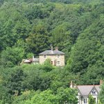 Thomas Telford's house as viwed from aqueduct