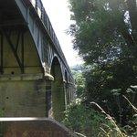 Aqueduct from below