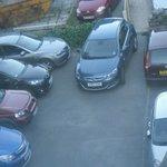 very small car park