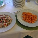vegan - carote al sesamo e riso alle verdure