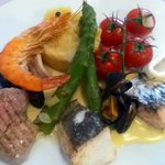 La parillade grilled fish selection - just gorgeous !