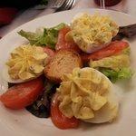 Oeufs tomate (entrée)