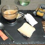 Café fromagé partagé avec Wall-e