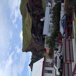 Utsikt från Guesthouse Arny