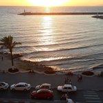 View from 5th floor balcony, Sozer Hotel,  Kusadasi, Turkey.