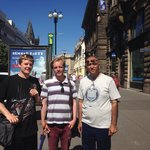 After a beautiful city tour of Prague in June, 2014 with Mr.Yaqoob/Jacob, of Premiant City tour