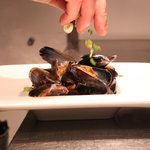 Mussels with Prosseco & Spring Onion