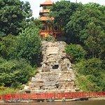 Pagoda & waterfall (not working(