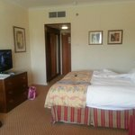 Rooms were very basic for the high price they charge!
